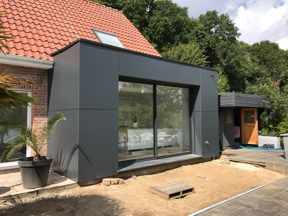 Extension de maison en bois à Cassel