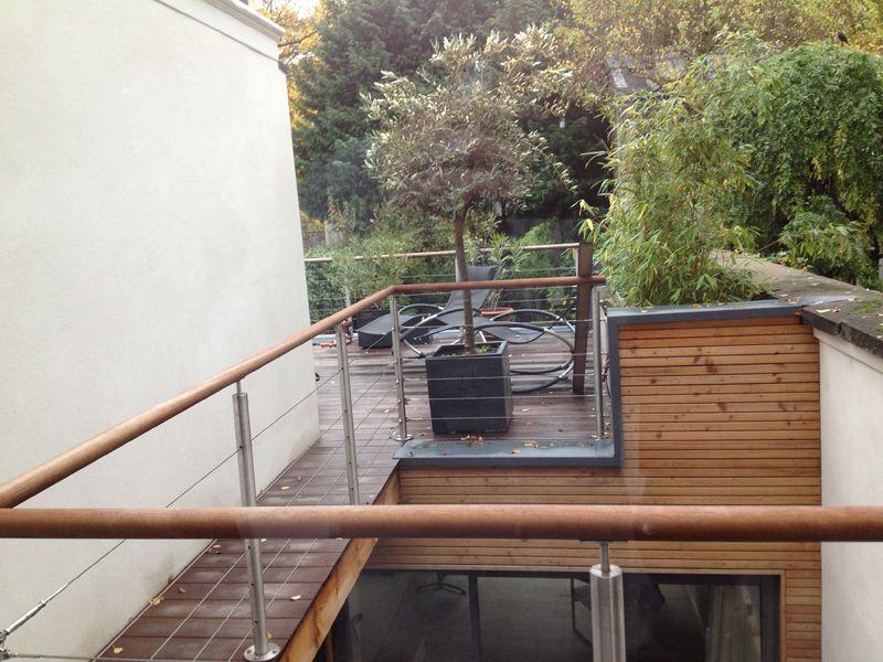 Extension en ossature bois à La Madeleine